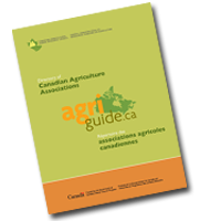 the directory of canadian agriculture associations